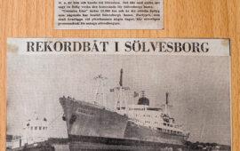 M/s Conzales lastar 12.000 ton p-massa till Kuba. 1963